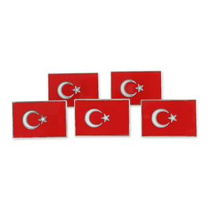 Turkish Flag Turkey National Flag Lapel Pin