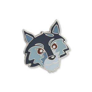 House Stark Emoji Lapel Pin