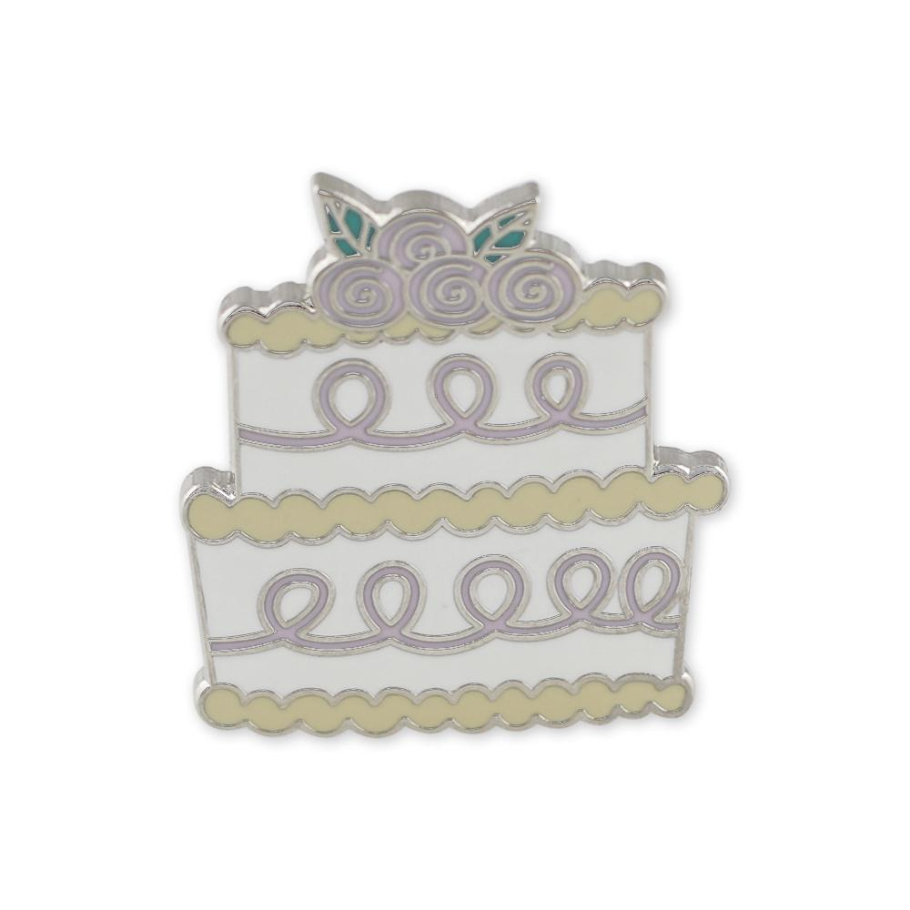 Wedding Favor Wedding Cake Hard Enamel Lapel Pin
