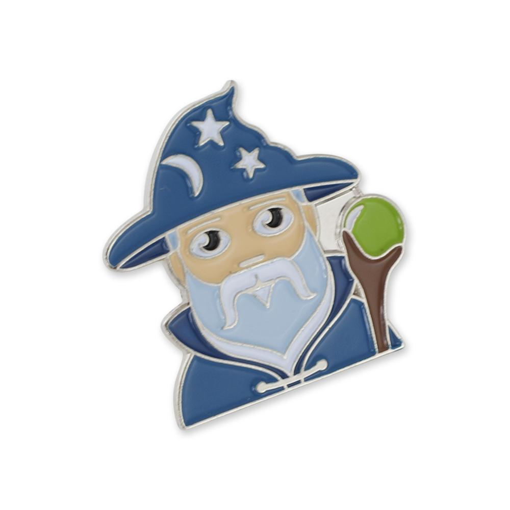 Wizard Emoji Soft Enamel Lapel Pin