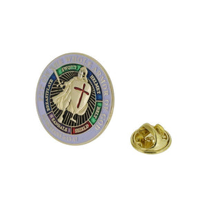 Armor of God Lapel Pin