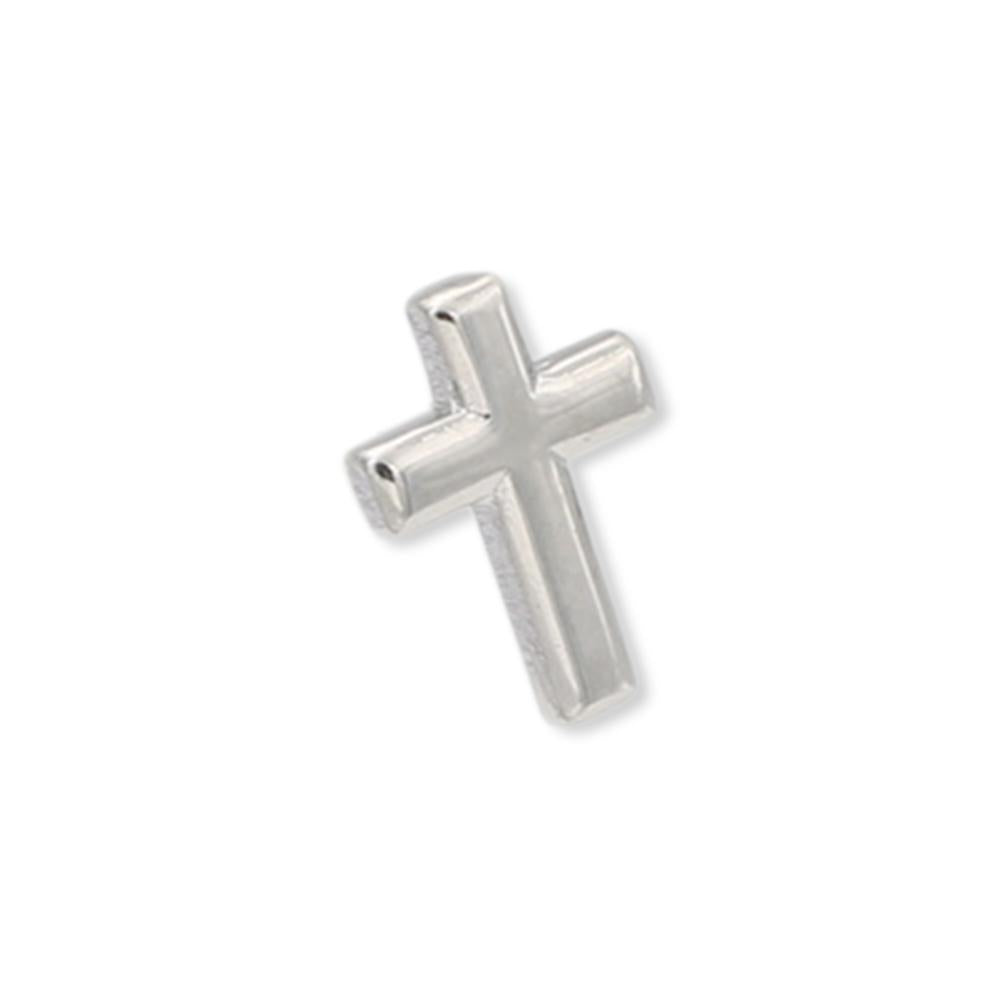 Sterling Silver Cross Crucifix Pin