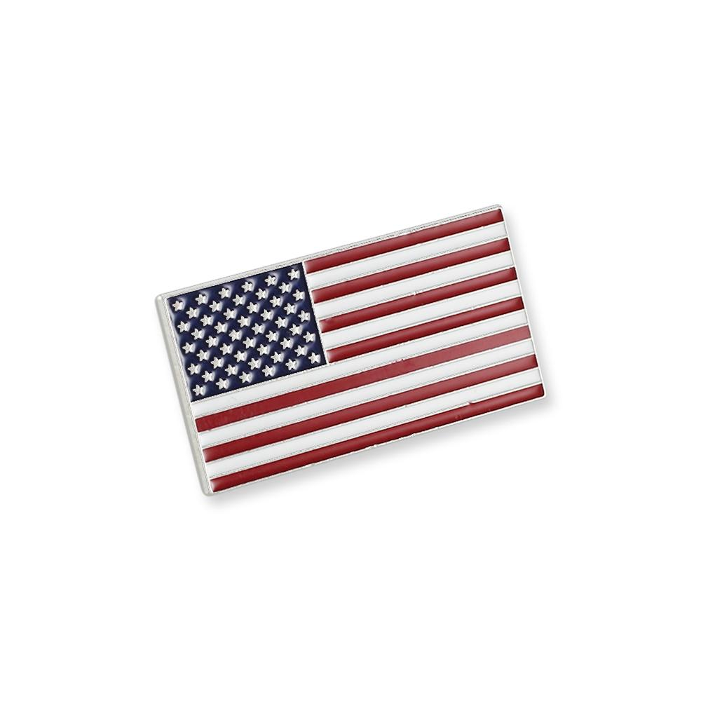 Made In USA American Flag Pin Custom Pin