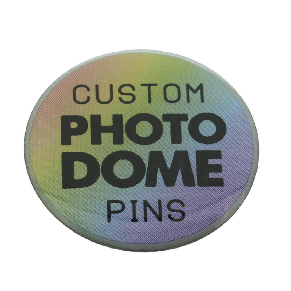custom rainbow photodome pins