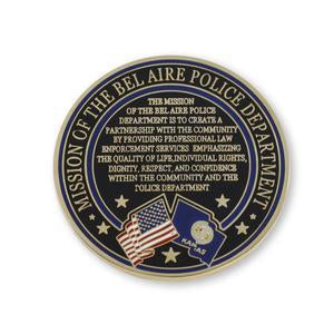 mission statement custom coins