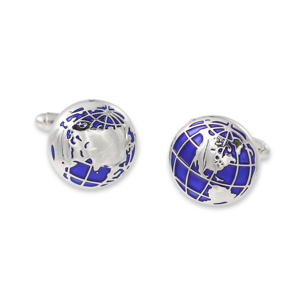 Silver Metal Custom Cuff Links For Suits