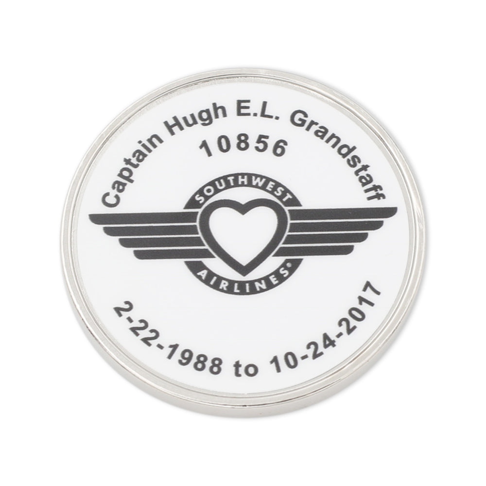 custom printed memorial coin made in usa