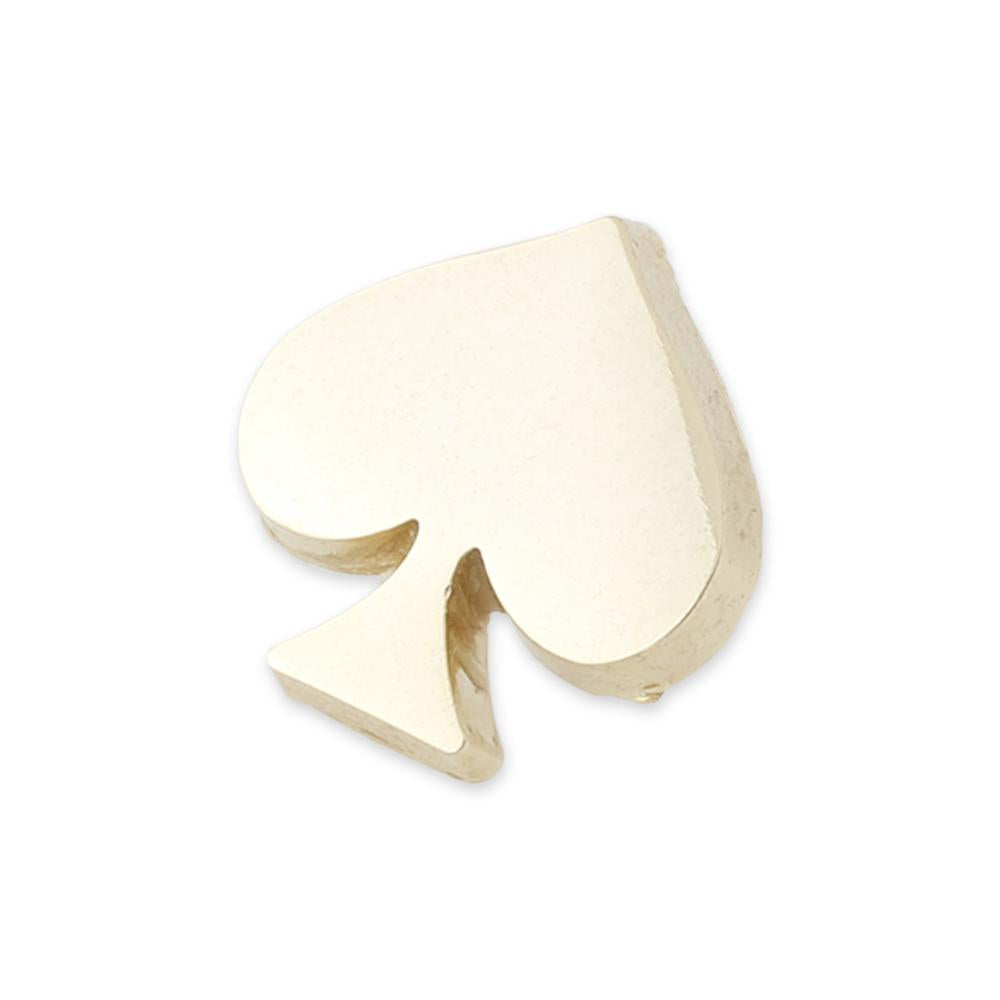 Diestruck Spade Custom Shape Lapel Pin