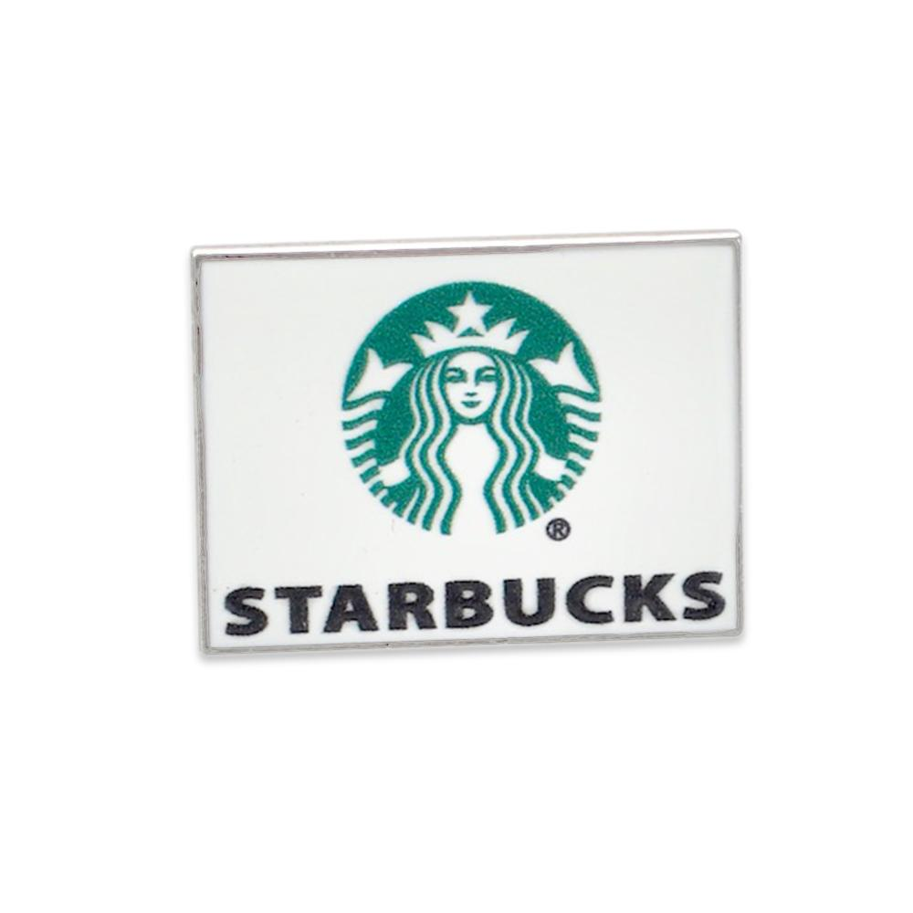 Custom Starbucks enamel printed in USA pin
