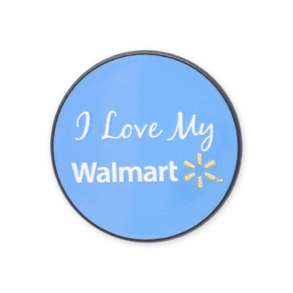 Walmart Associate Lapel Pin With Spark USA Enamel Custom With Print