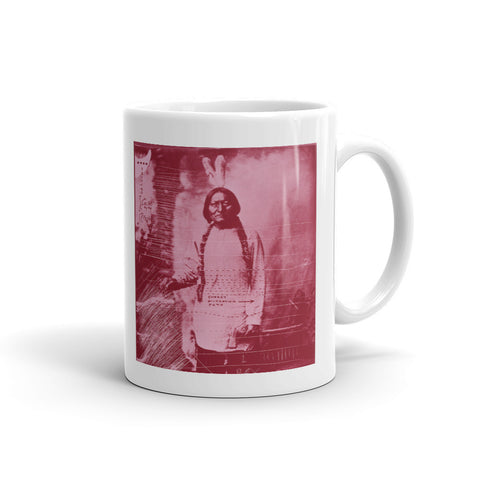 Carl Beam Sitting Bull Ceramic Cup