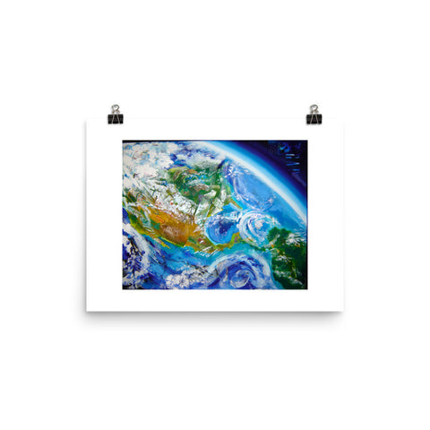 "Earth Incorporating I 12""x16"" print"