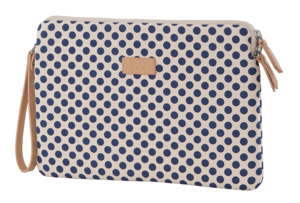 Navy Polka Dot Microsoft Surface Sleeve