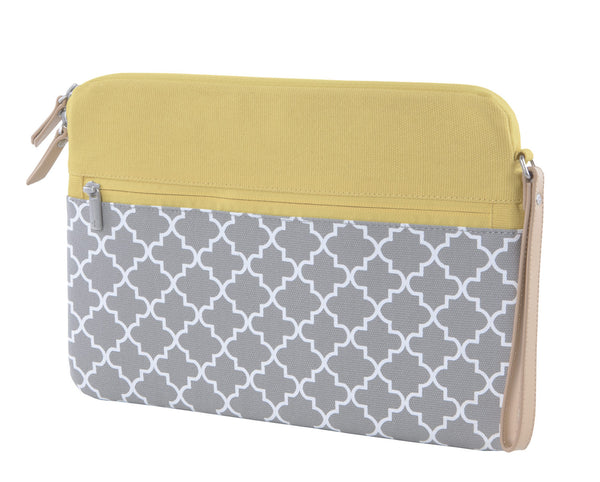 Yellow/Grey Microsoft Surface Sleeve Clutch