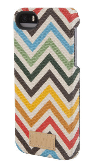 Multi-Colored Chevron Snap Case for iPhone 5/5s
