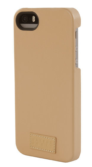 Tan Leather Snap Case for iPhone 5/5s