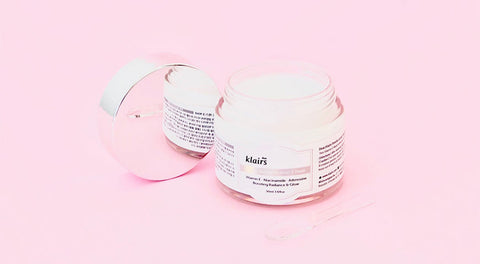 KLAIRS Freshly Juiced Vitamin E Mask. cosmetica coreana