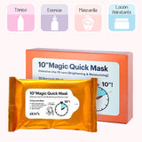 "10"" Magic Quick Mask. Mascarilla multifunción. Skin79. Cosmética coreana. Koco Chic"