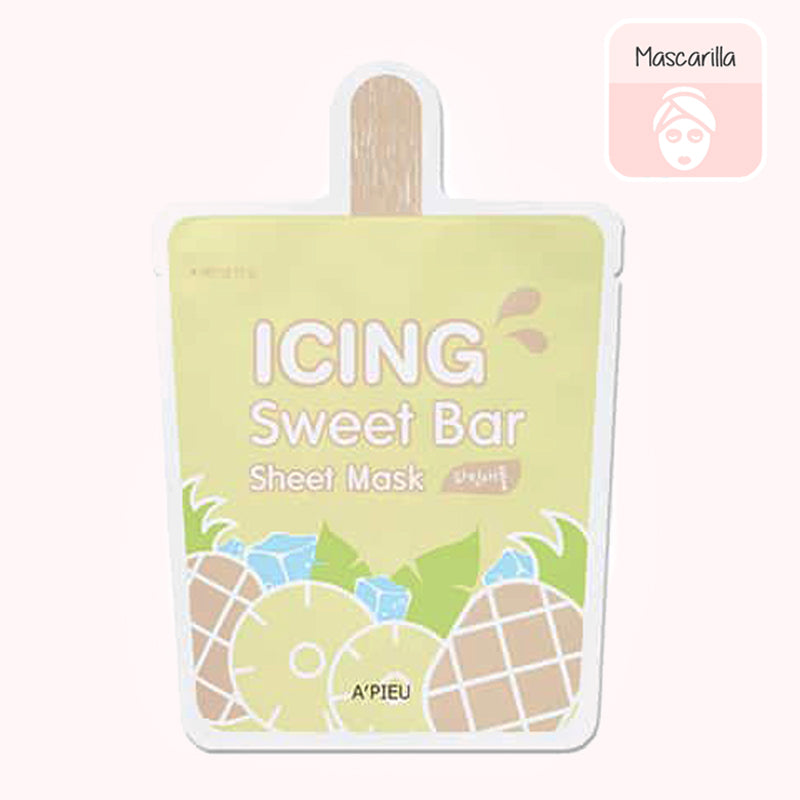 A'PIEU Icing Sweet Bar Sheet Mask (Pineapple)