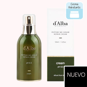 D'ALBA Peptide no sebum Repair Cream