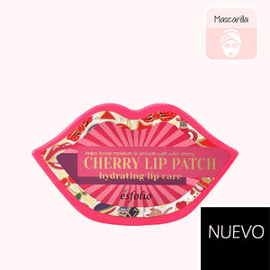 ESFOLIO Cherry Lip Patch. MASCARILLA LABIAL. PARCHES LABIALES. HIDROGEL. COSMETICA COREANA. KOREAN COSMETIC. KBEAUTY. ESFOLIO