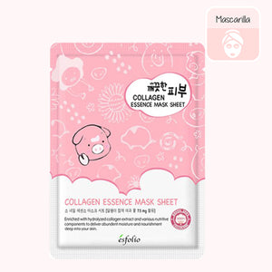 ESFOLIO Pure Skin Essence Mask Sheet (Collagen)