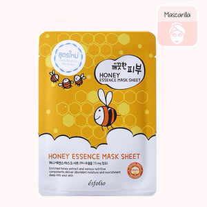 ESFOLIO Pure Skin Essence Mask Sheet (Honey)