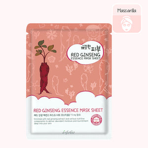 ESFOLIO Pure Skin Essence Mask Sheet (Red Ginseng)