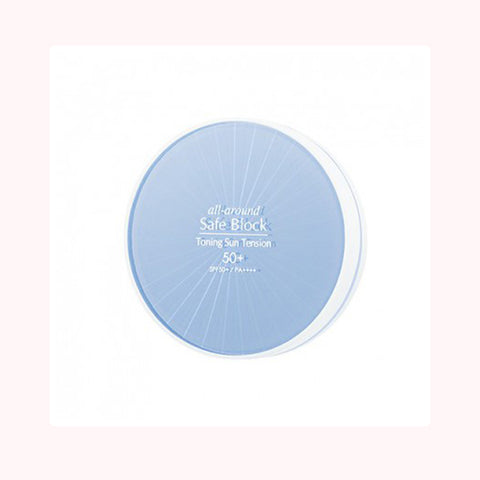 MISSHA All Around Safe Block Toning Sun Tension SPF 50+PA++++. Protector solar compacto. Cosmetica coreana. Koco Chic