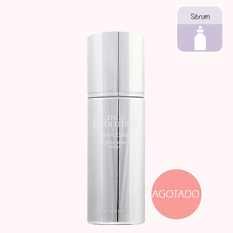 MISSHA Time Revolution White Cure Science Blanc Tone-up Serum. COSMETICA COREANA. KOCO CHIC