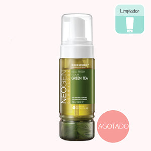 NEOGEN Green Tea Real Fresh Foam Cleanser. Limpiador facial. Cosmetica coreana. Koco Chic