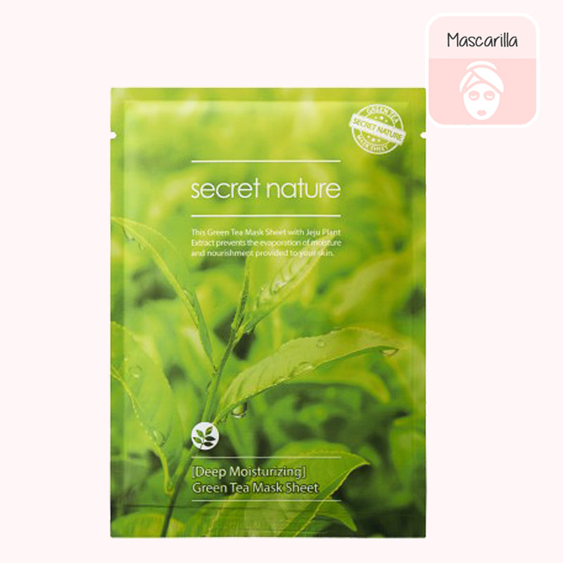 SECRET NATURE Green Tea Sheet Mask