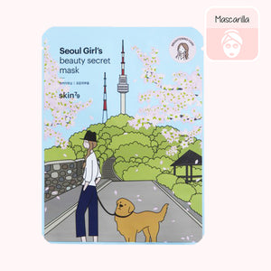 Seoul Girl's Beauty Secret Mask Brightening