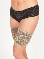 Camel Lace Anti-Chafe for Thighs Cover Bands for Legs