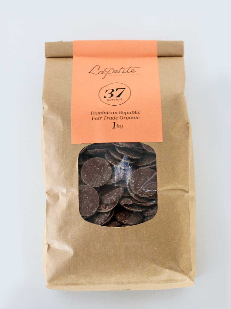 37% Cocoa Milk  Chocolate Couverture - 1kg