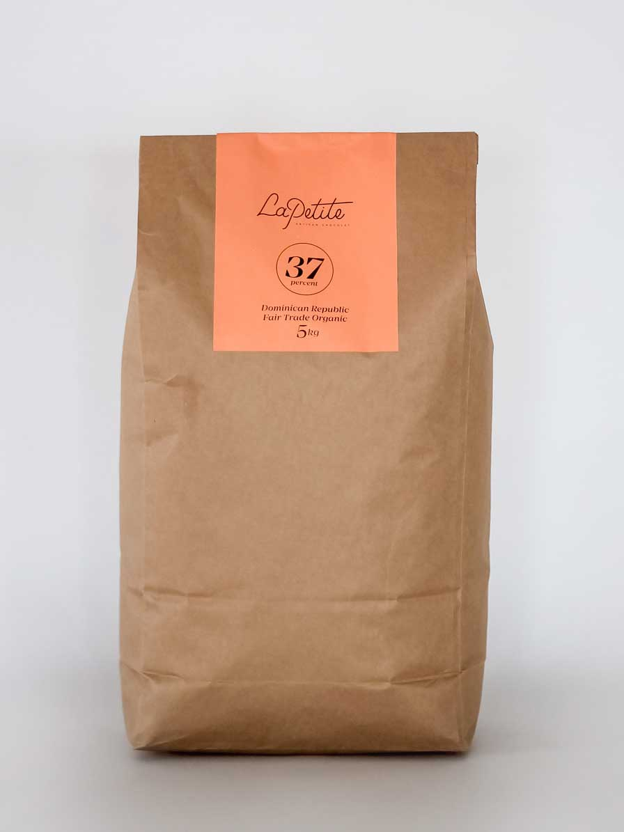 37% Milk  Chocolate Couverture - 5kg