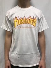 Thrasher Men's Tee Flames