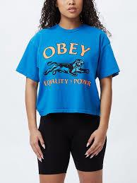 OBEY Girls crop top