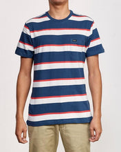 "RVCA Guys Tee ""Fjords Stripe"""
