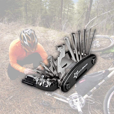 16-in-1 Bicycle Repair Tool Kit Bicycle Front Launch