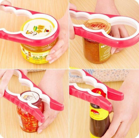4 in 1 Jar/Bottle/Can Opener Kitchen Front Launch