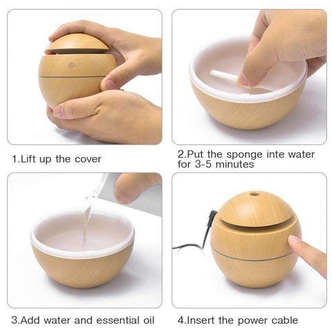 How to use humidifier