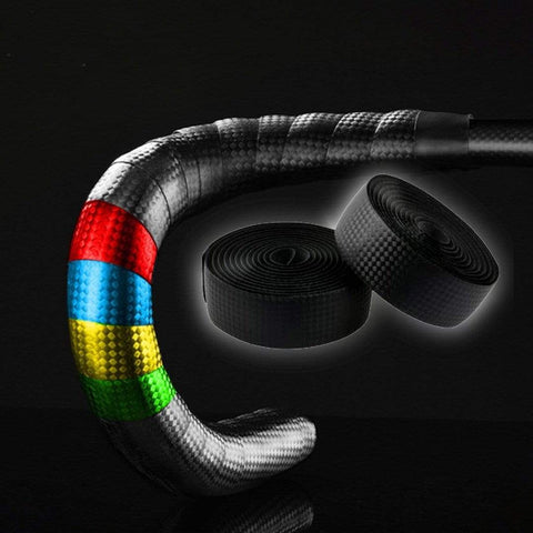 Carbon Fiber Cycling Grip Belt Bicycle Front Launch