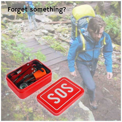 Emergency Survival Tool Set Outdoor Front Launch