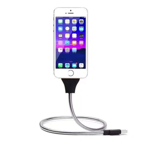 Flexible Charging Cable Holder Gadgets Front Launch