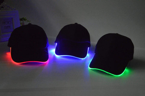 LED Unisex Cap Gadgets Front Launch