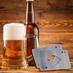 Stainless Steel Ace of Spades Opener Man Cave Front Launch