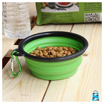 Travel Foldable Pet Bowl Smart Dog 1 Bowl - $9.95 Pastoral Life Store