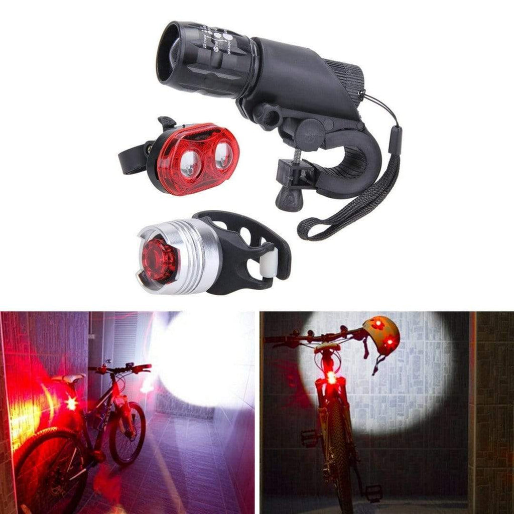Ultra Bright LED Lights Set for Bike Bicycle Front Launch