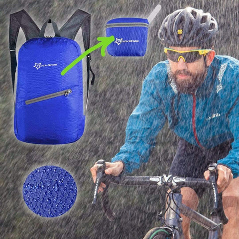 Waterproof Bicycle Bag Bicycle Blue Front Launch